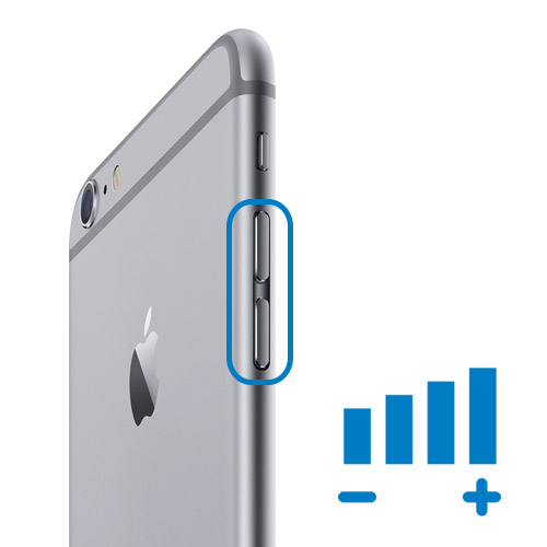 iPhone 6 Reparatur- Ersetzen des Lautstärke Schalters