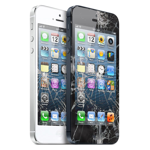 iPhone 5 Displayscheibe mit Touchelektronik Reparatur